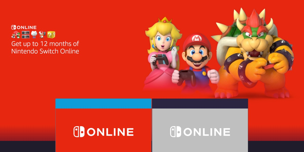 A Year of Switch Online for free