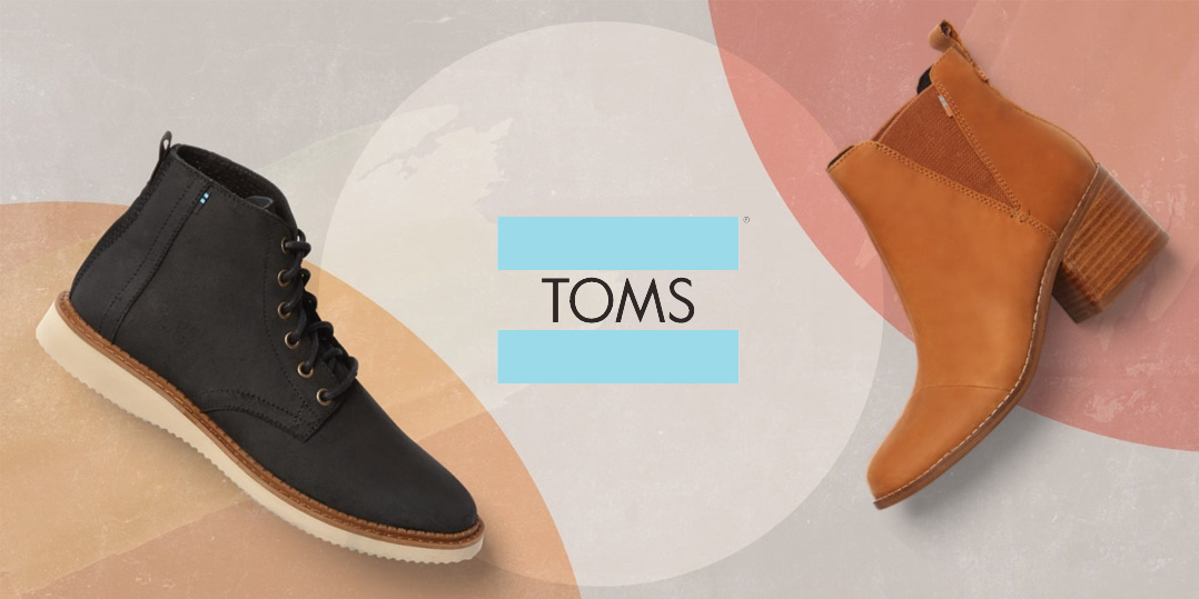 TOMS Fall Favorites Sale: 25% off boots, sneakers, and more + free shipping