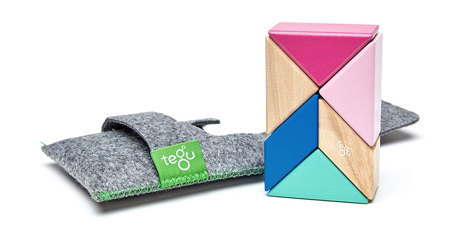 Tegu's Prism Magnetic Wooden Block Set with Pocket Pouch now $18 (Reg. $25)