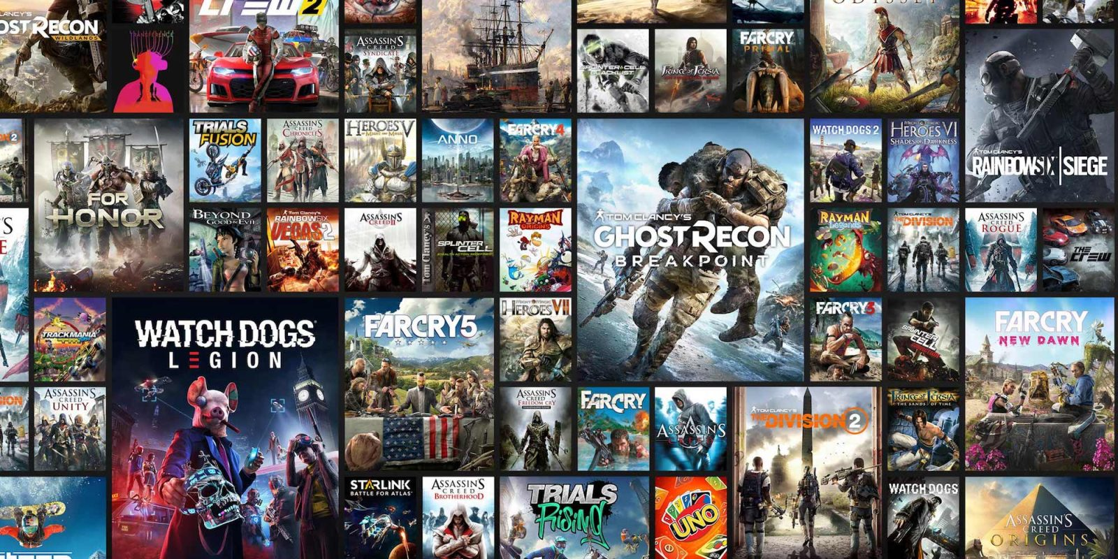 Try out Uplay+ for FREE: Ubisoft's on-demand game subscription is now live