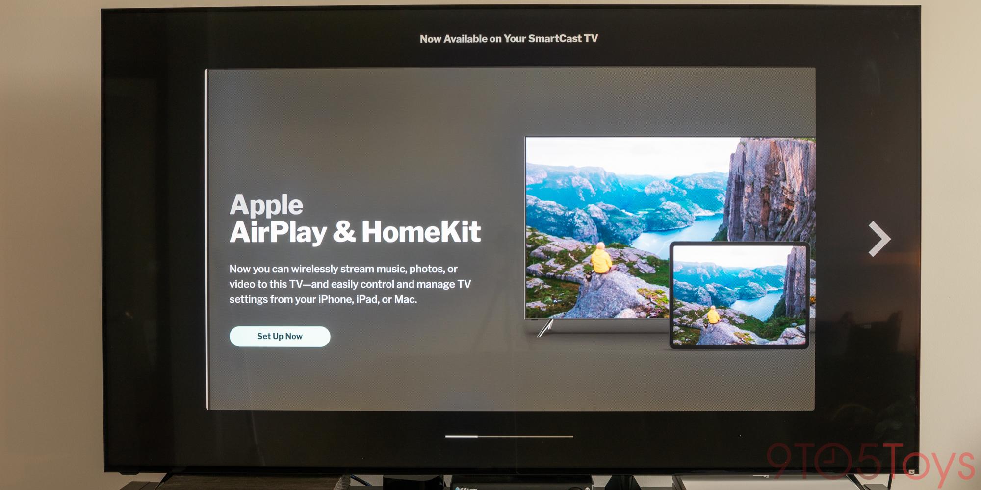 VIZIO HomeKit TV Review Setup