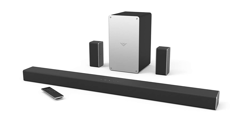 Go 5.1 with VIZIO's Soundbar + Sub Audio System for $120 (Refurb, Orig. $270)