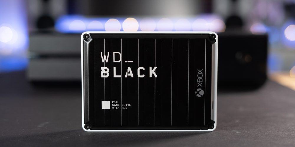 WD Black P10 Xbox One on table