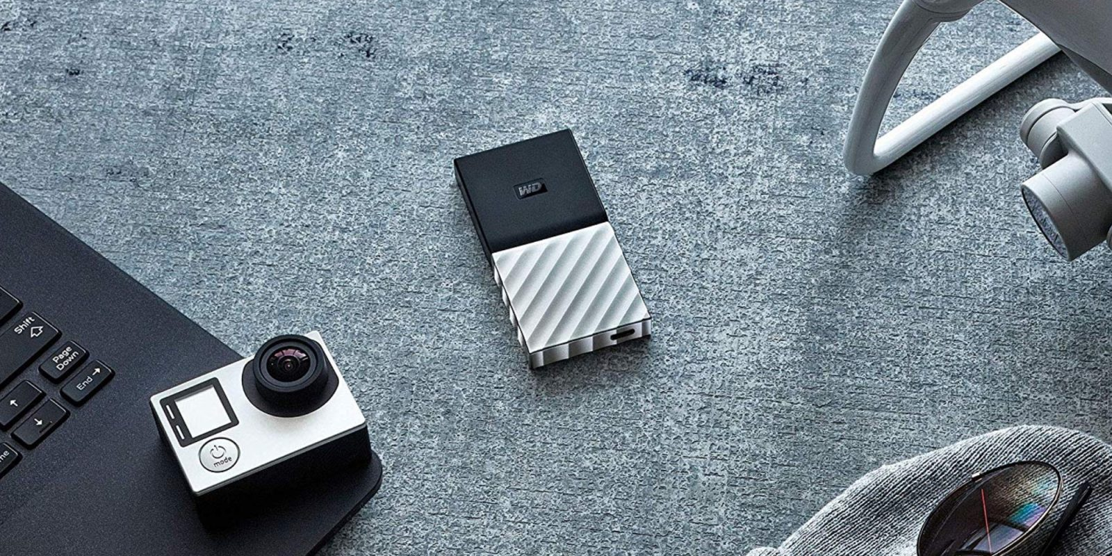 WD's 1TB My Passport Portable USB-C SSD pairs with your Mac