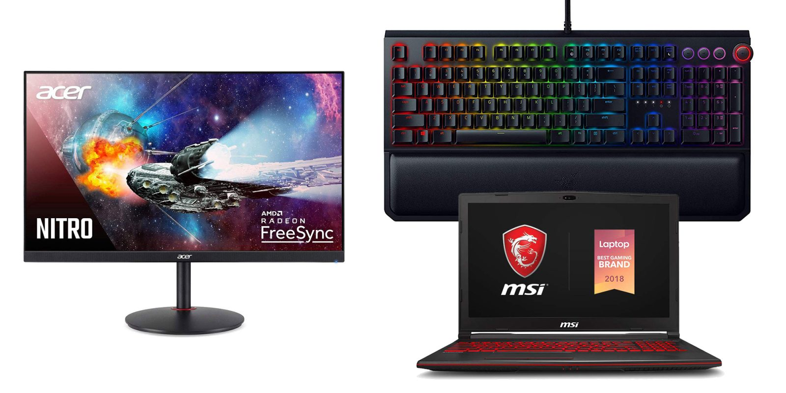 Amazon's Gaming PC Gold Box has deals from $45: Acer, MSI