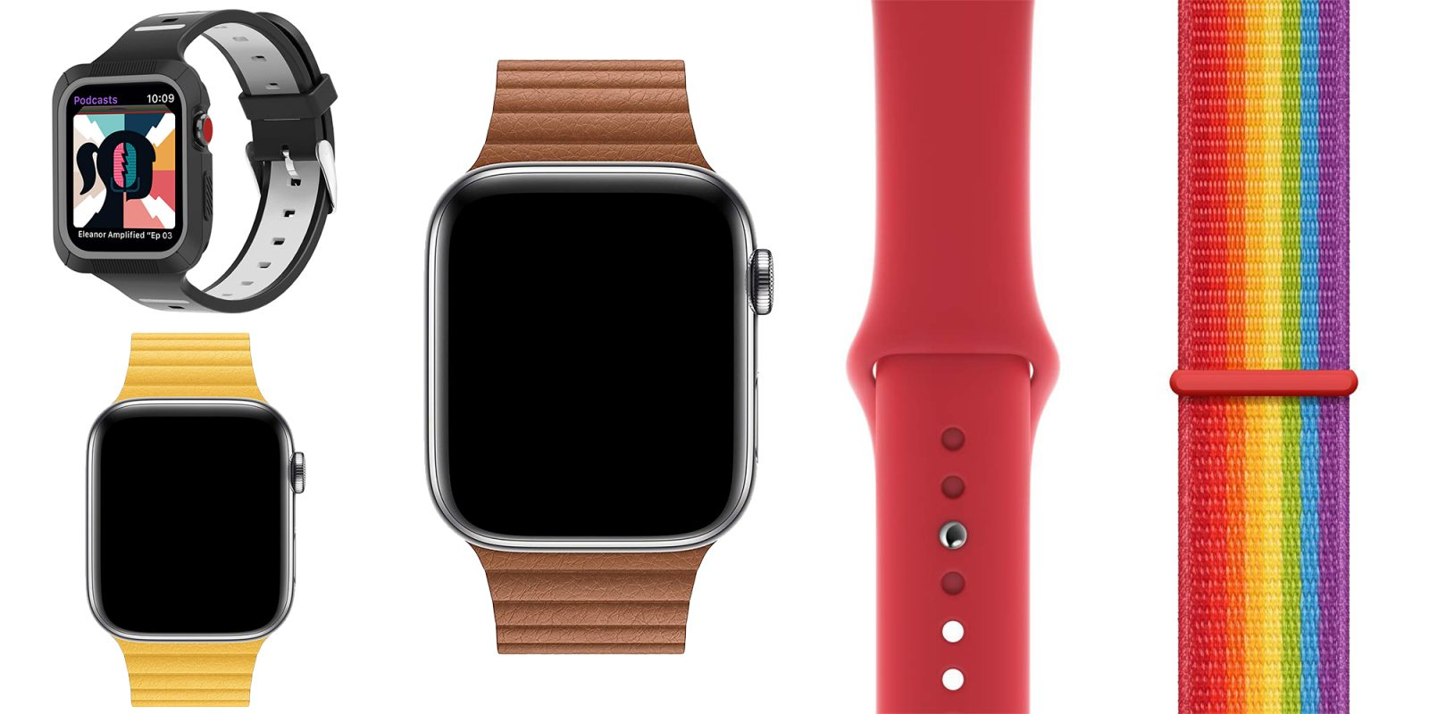 Apple Watch band deals from $5: Official Leather Loop now $99, sport straps, more