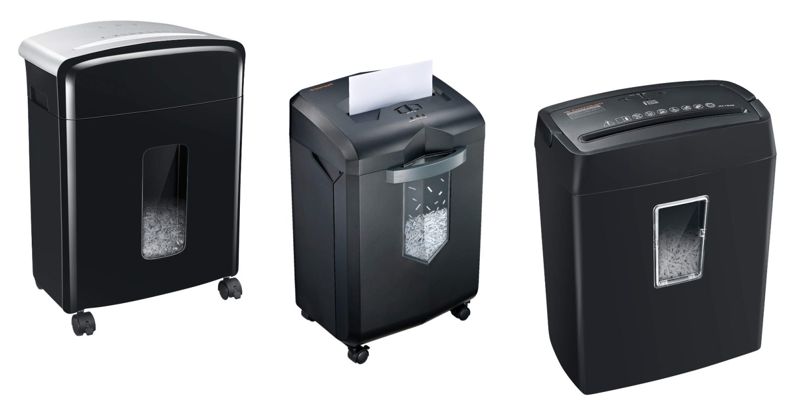 Bring a new highly-rated paper shredder to your office with deals from $24.50