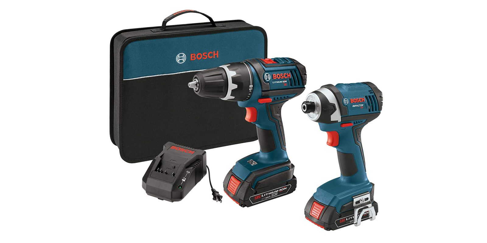 Tackle projects around the house: Bosch 2-tool Combo Kit for $141 (Reg. $200)