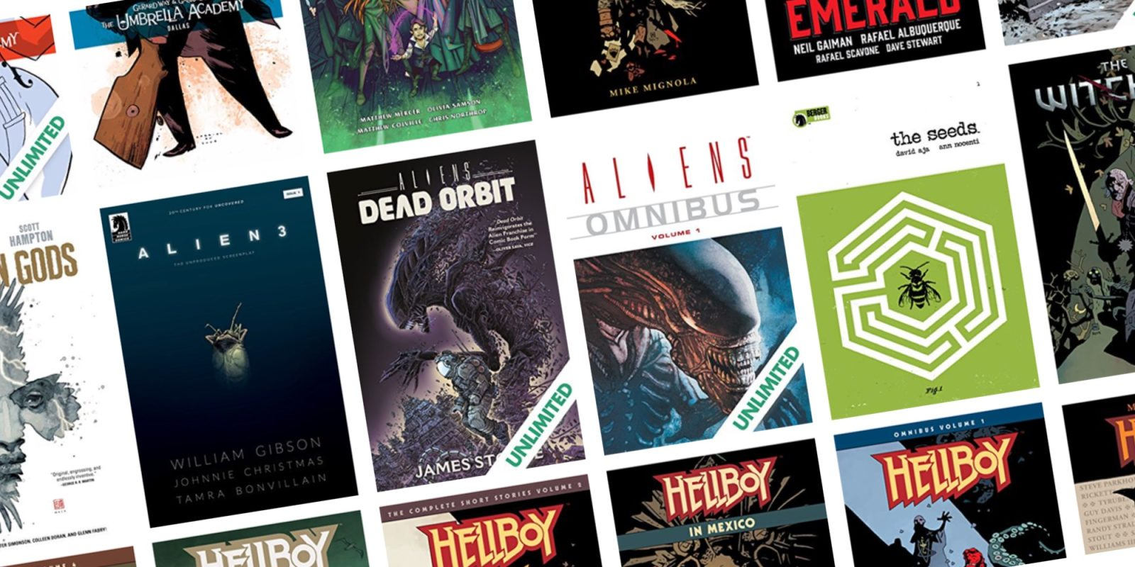ComiXology slashes 50% off its Dark Horse digital comics from under $1