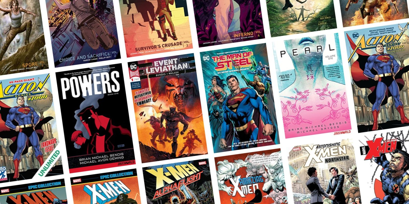 Save up to 75% on DC, Marvel and other graphic novels from $1 at ComiXology