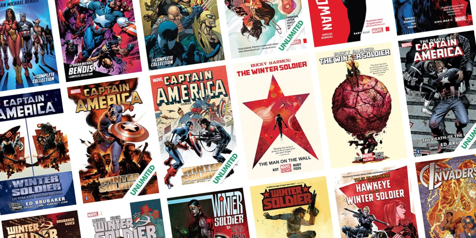 ComiXology ends the week with up to 67% off Winter Soldier comics, and more