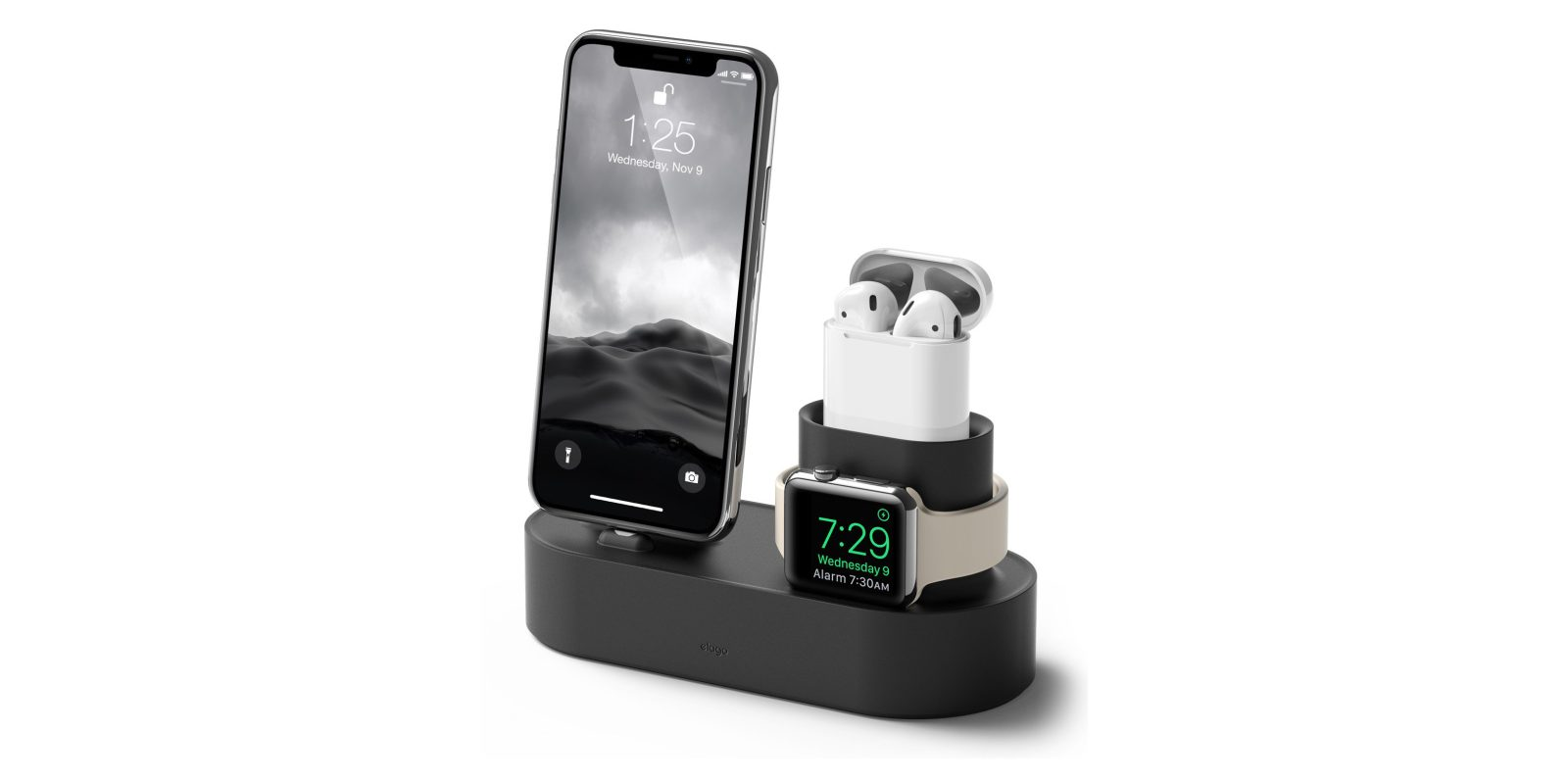 elago's 3-in-1 dock handles iPhone, AirPods, and Apple Watch for $19