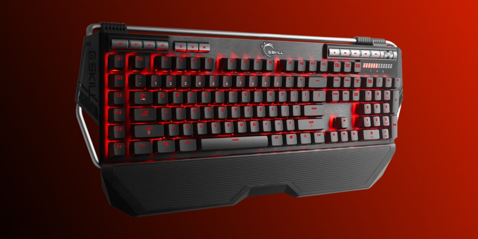 Level up your game with 24% off G.SKILL's RIPJAWS Mechanical Keyboard at $65