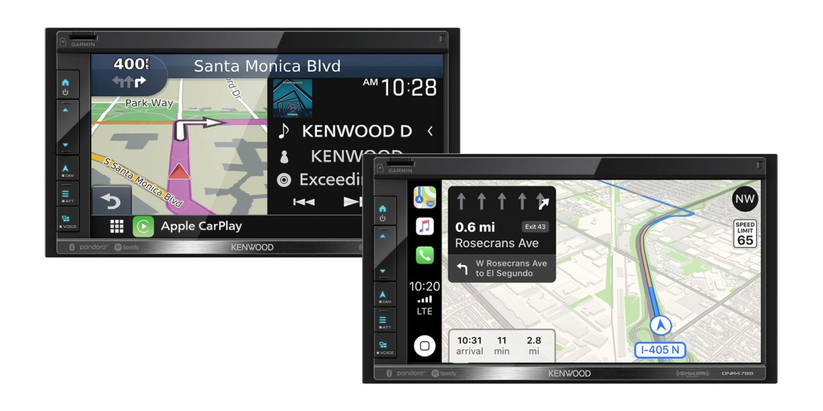 A $100 discount brings Kenwood's 6.8-inch CarPlay Receiver to an all-time low