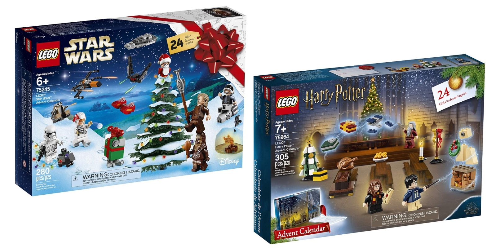 Calendrier Star Wars 2019.Lego S New Star Wars Harry Potter Advent Calendars Fall To