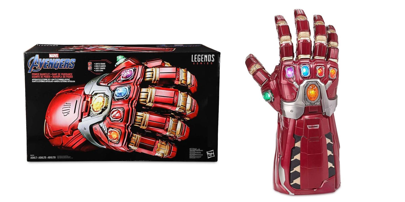 You too can be Iron Man: Marvel Avengers Power Gauntlet now $80.50 (Reg. $100)