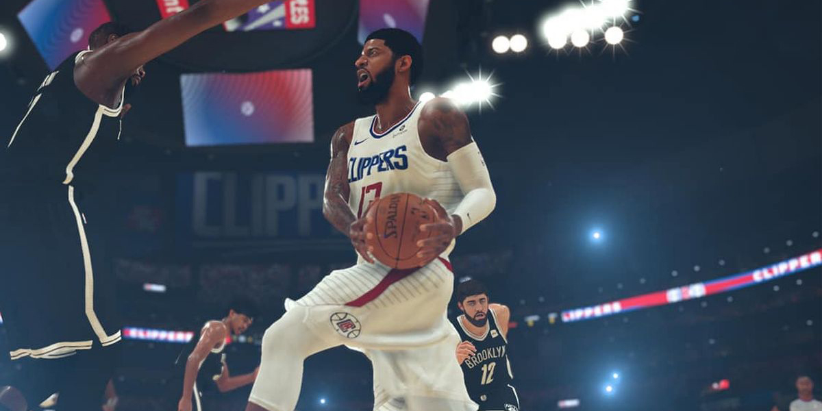 Paul George in NBA 2K20