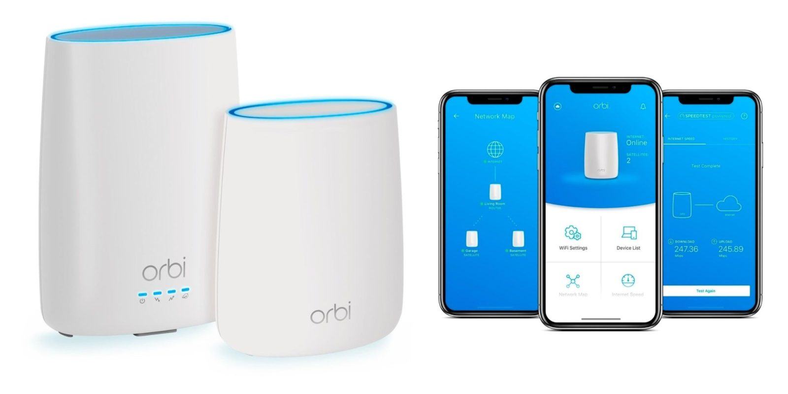 NETGEAR's Orbi Mesh 802.11ac Router Combo overhauls your network at $90 off