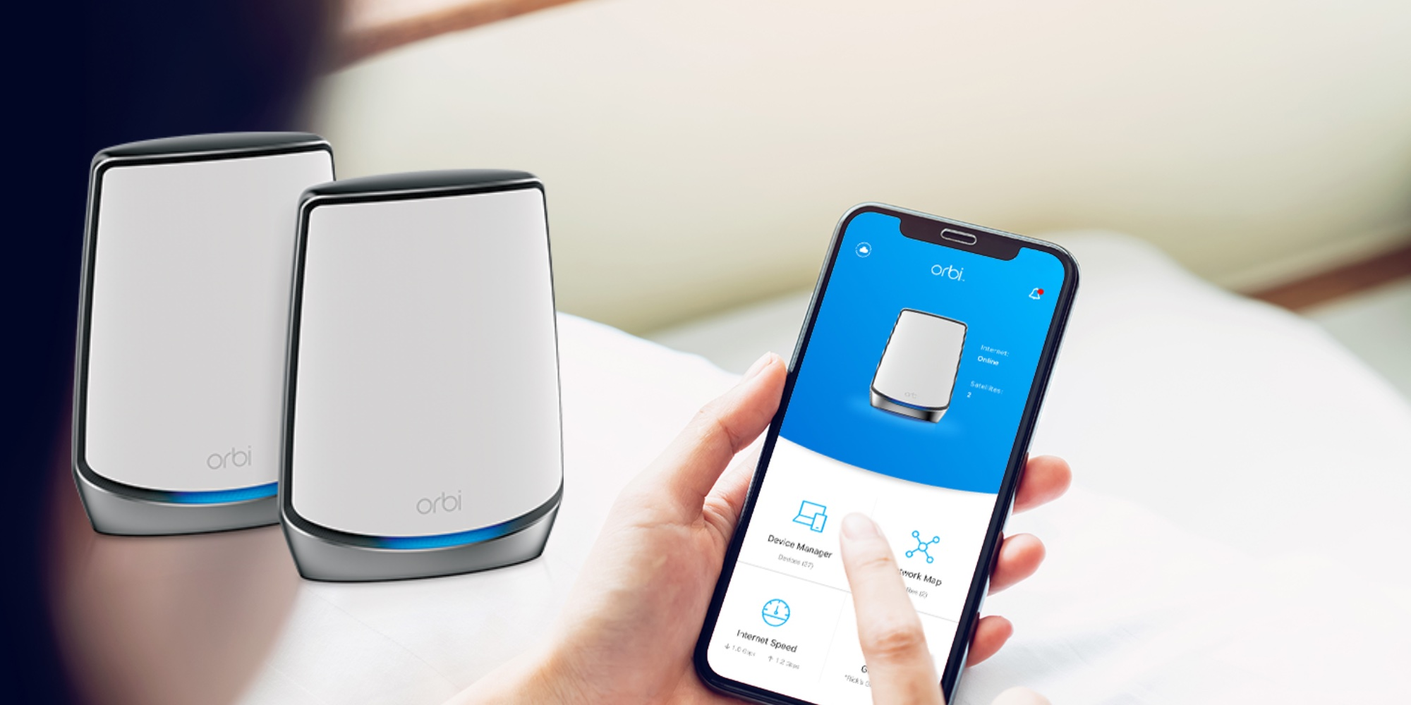 NETGEAR Orbi Wi-Fi 6 Routers debut with luxurious price tag