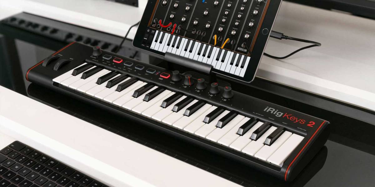 new Mac/iOS MIDI keyboards - iRig Keys 2