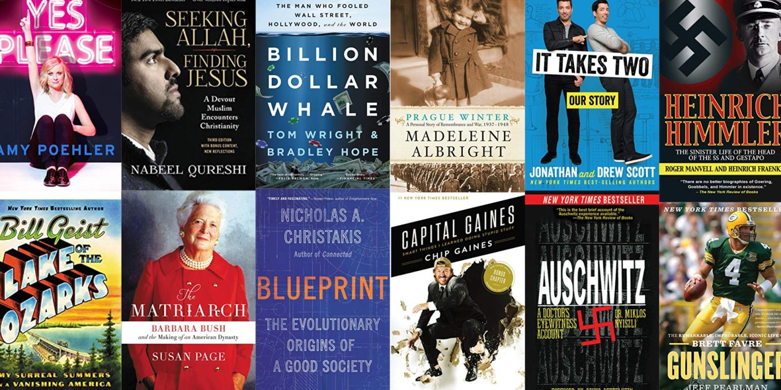 Expand your Kindle library w/ New York Times best-selling eBooks from $1, more