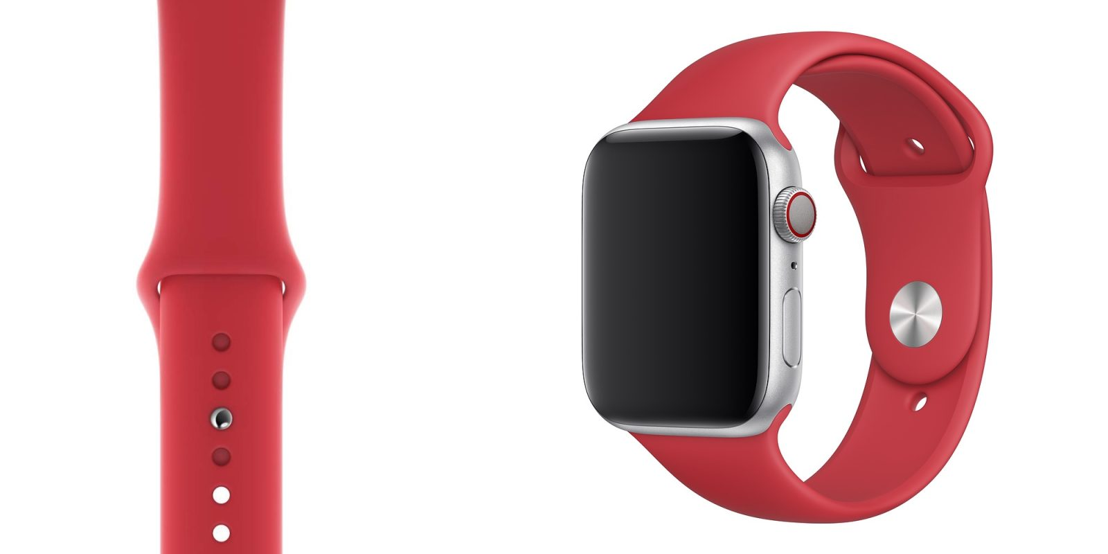 Apple's official (Product) RED Apple Watch Band is down to a new low under $36