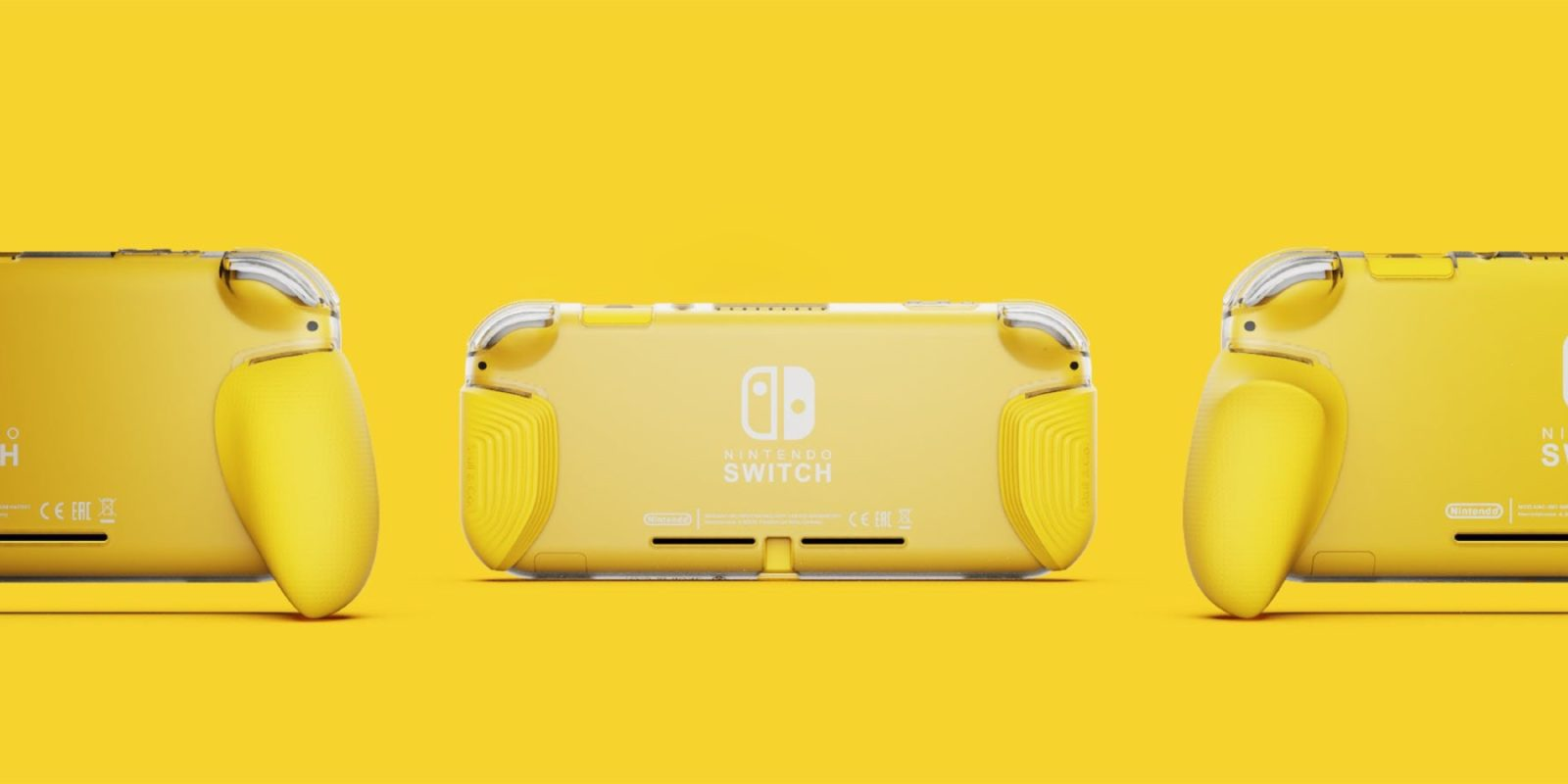 Skull and Co. teases new ergonomic GripCase ahead of Switch Lite launch