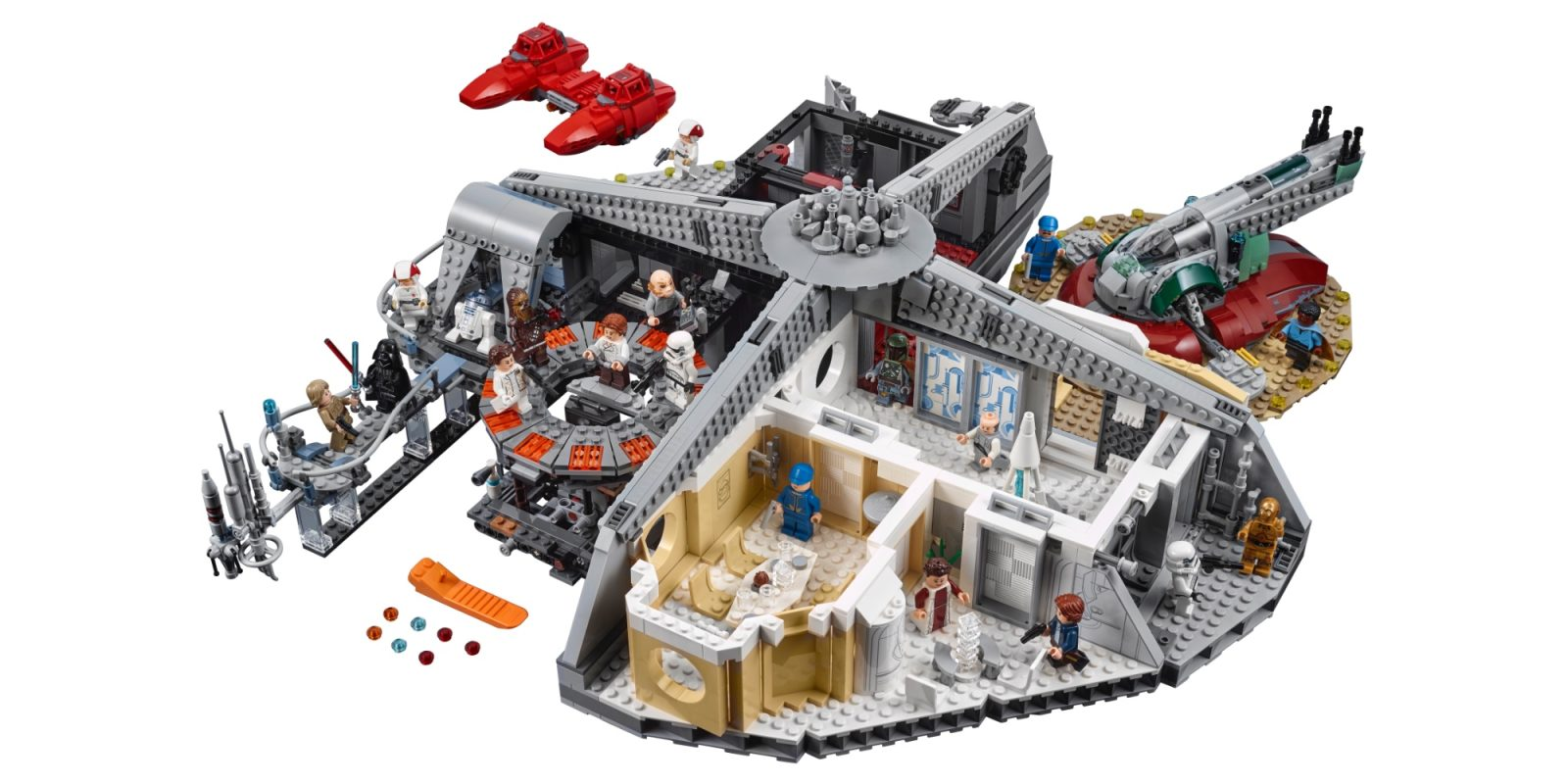 Assemble a $60 discount on LEGO's 2,800-piece Betrayal at Cloud City set, more