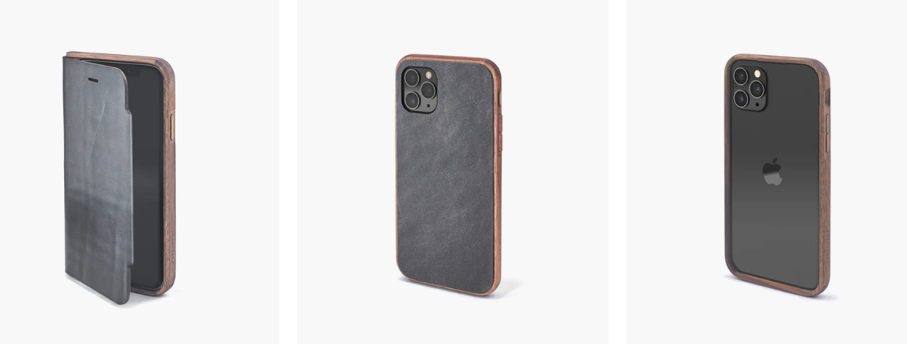 The Grovemade wooden iPhone 11 cases are here!