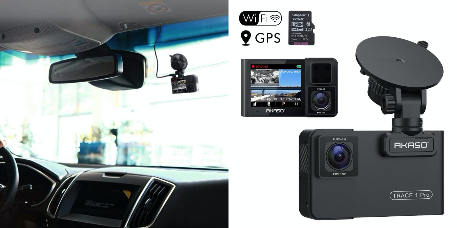 This dual dash camera records multiple views for $88 (Reg. $140)