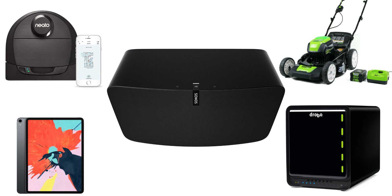 Amazon Warehouse is 20% off: Sonos Play:5 w/ AirPlay 2 $362 (Orig. $499), more