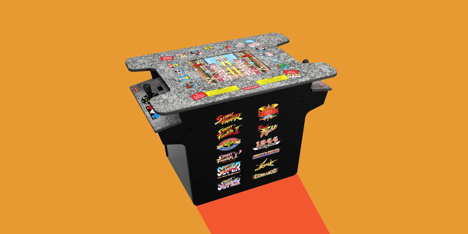 Go head-to-head w/ Arcade1Up's Street Fighter Cocktail Table: $420 (Save $80)