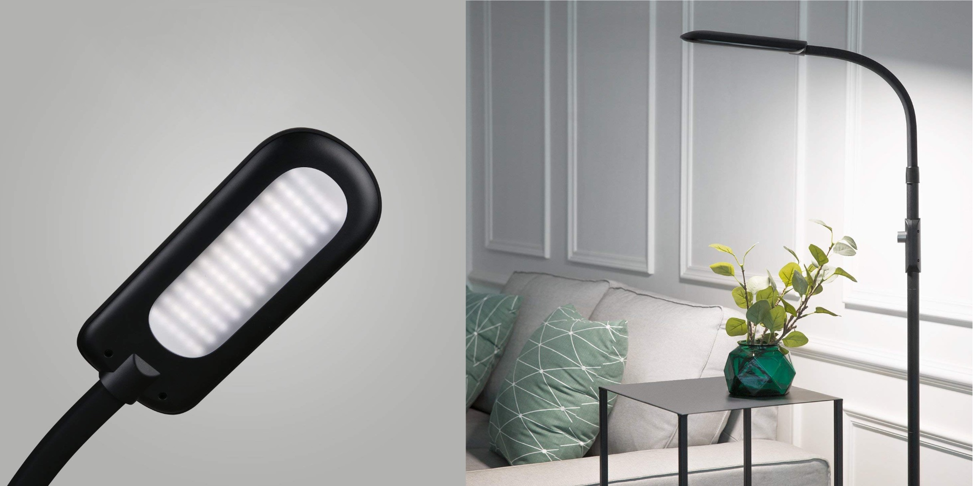 Aukey's 12W Dimmable Gooseneck LED Floor Lamp Gets $30