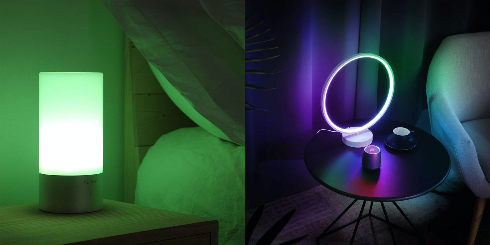 These AUKEY dimmable RGB lamps upgrade your space's lighting from $20.50