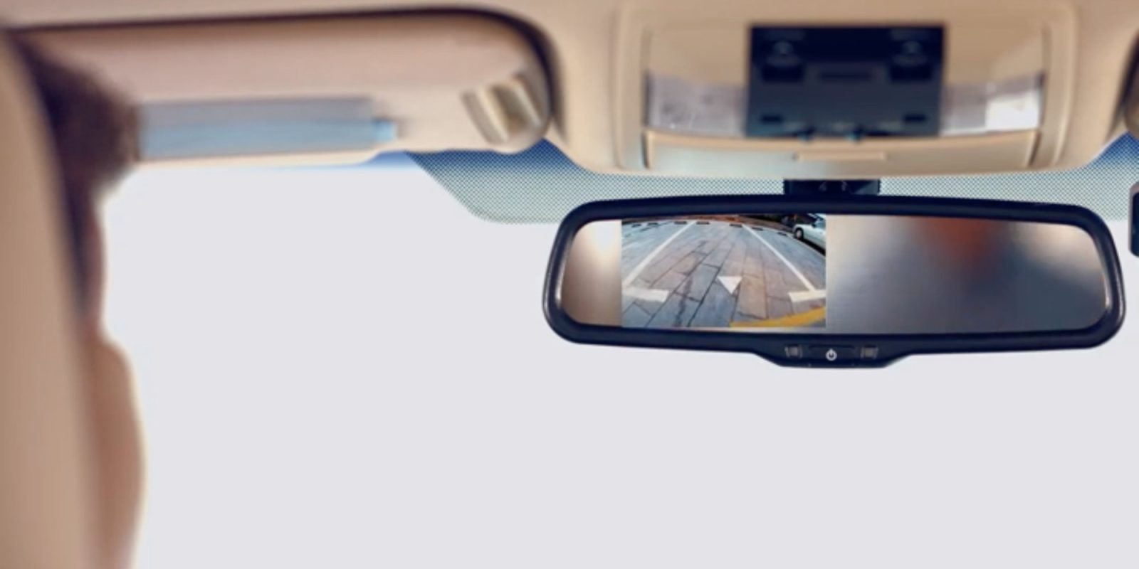 This kit adds a backup camera to your rear view mirror for $91.50 (Save 35%)