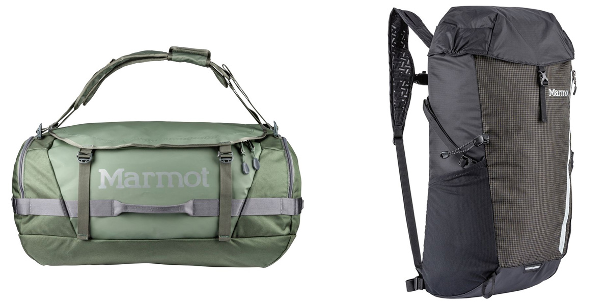 Backcountry's travel sale offers 20% off Marmot, Herschel, Timbuk2, more