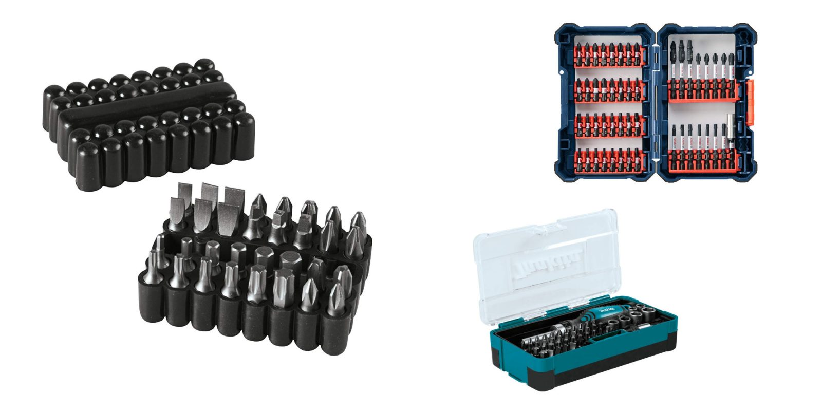 Amazon has several bit sets on sale, prices start from just $4 Prime shipped