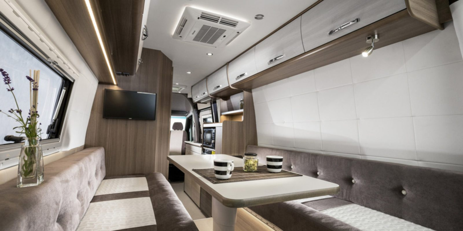 The Swan 699 camper van sleeps four and takes trips to the next level