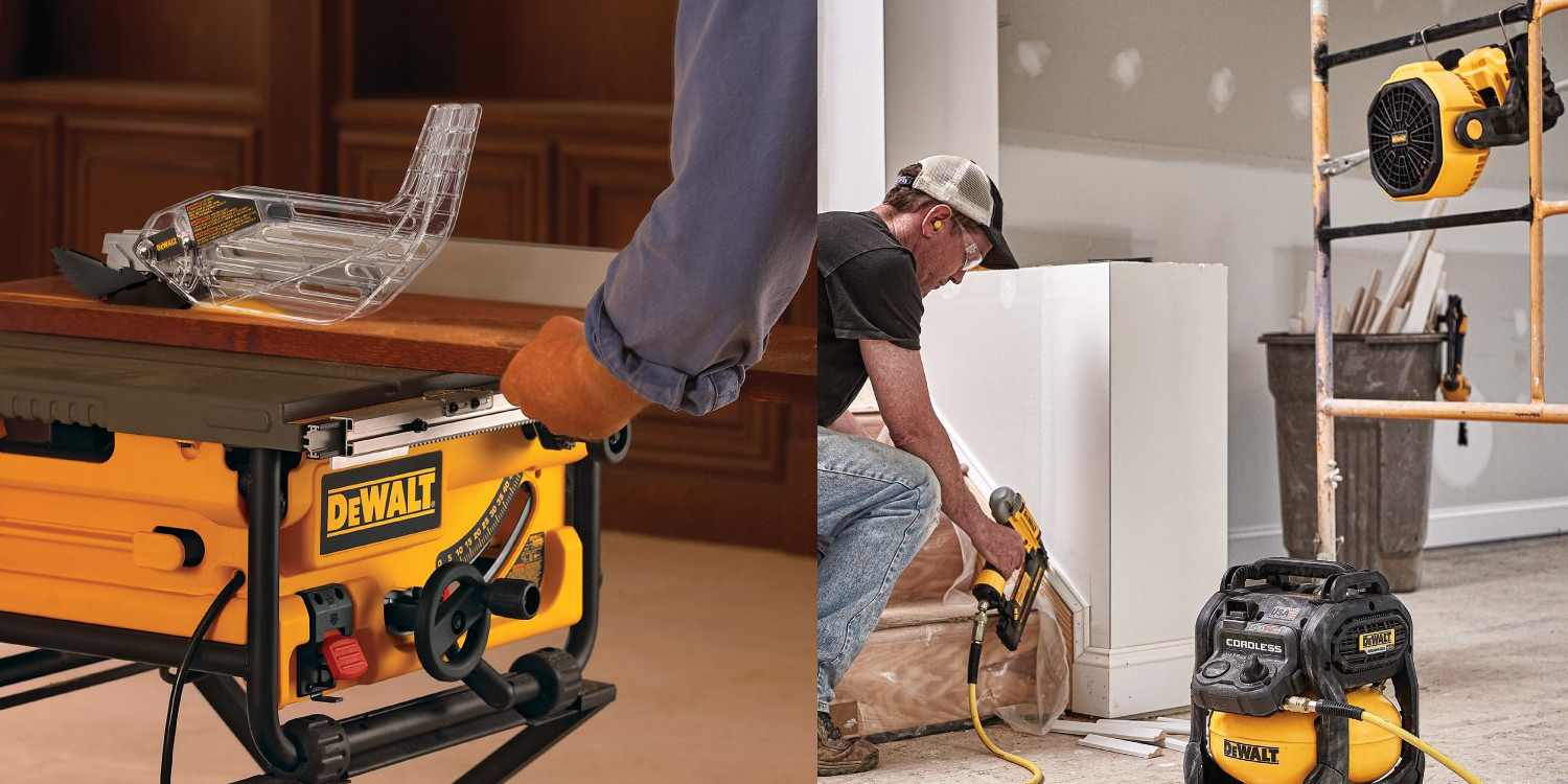 DEWALT tools, batteries, and accessories up to 30% off in today's Gold Box