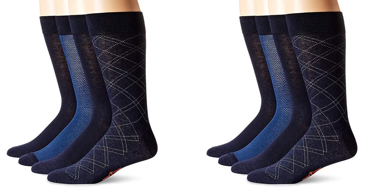 Dockers men's 4-pack herringbone socks drop to $10 Prime shipped (Reg. $16)