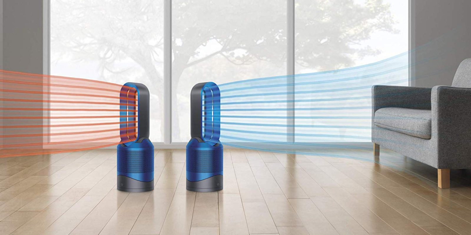 Dyson's Siri-compatible Pure Hot + Cool AiO is $230 (Refurb, Orig. $599), more