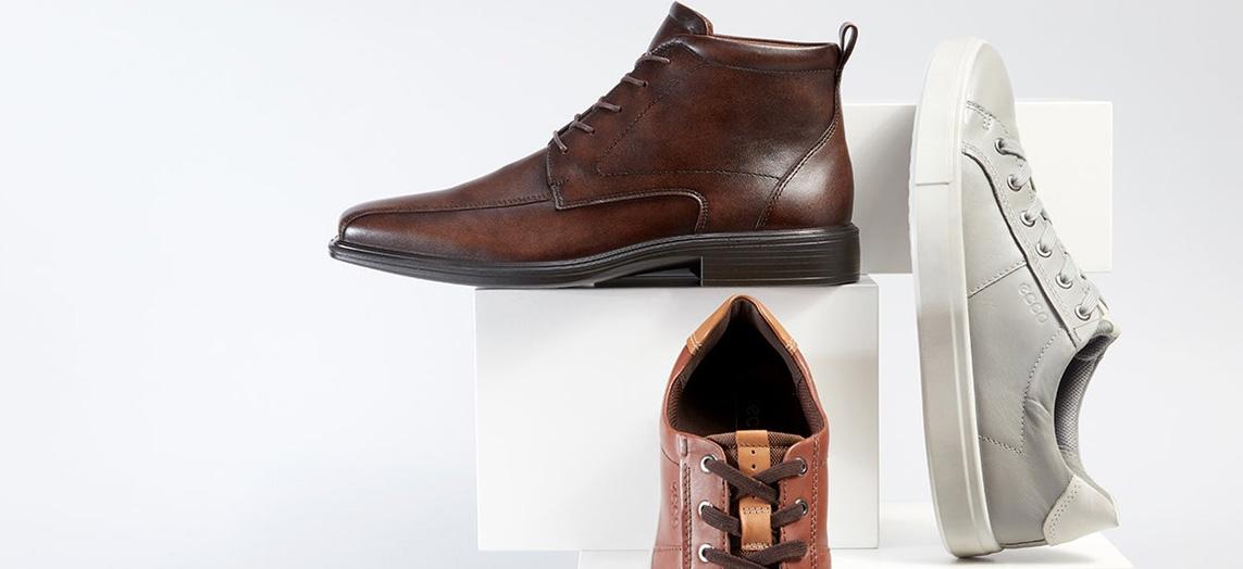 Hautelook's ECCO Sale offers up to 60% off men's boots, sneakers, more