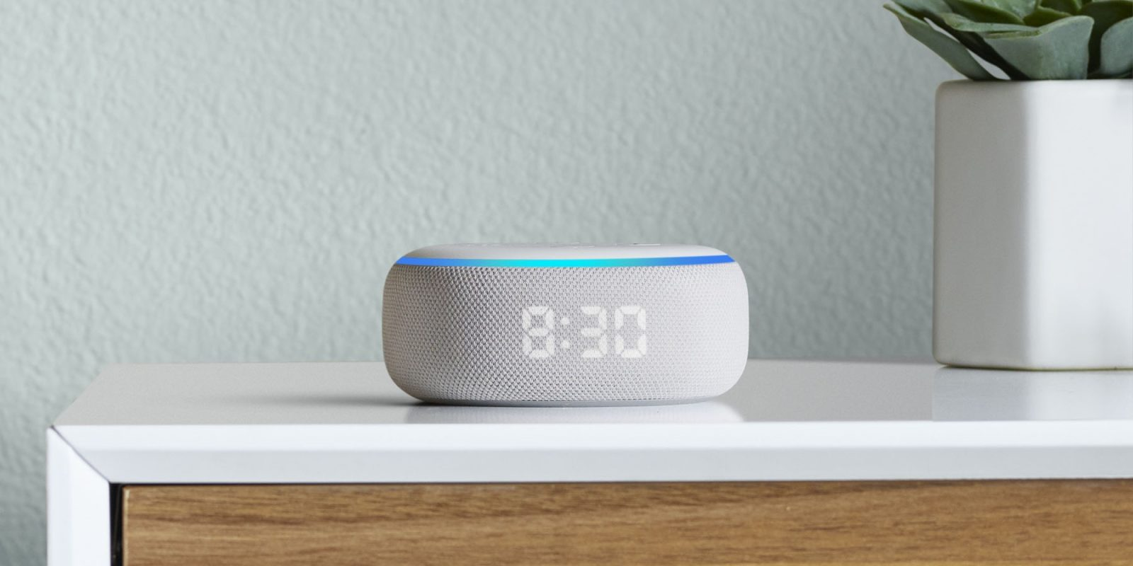 Amazon's new Echo Dot with Clock gets first discount to $50, more