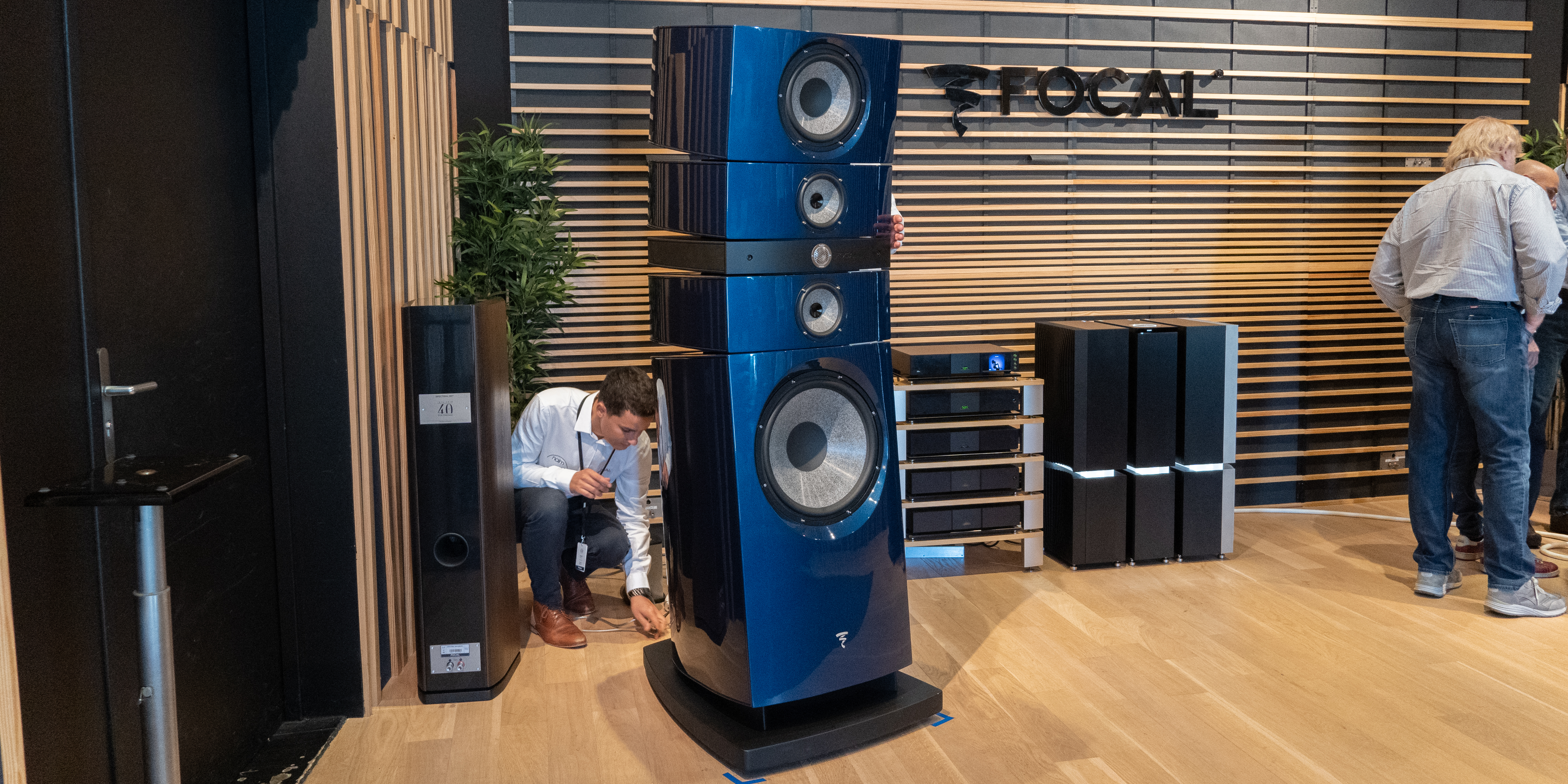 Grand Utopia Evo at Focal's' HQ