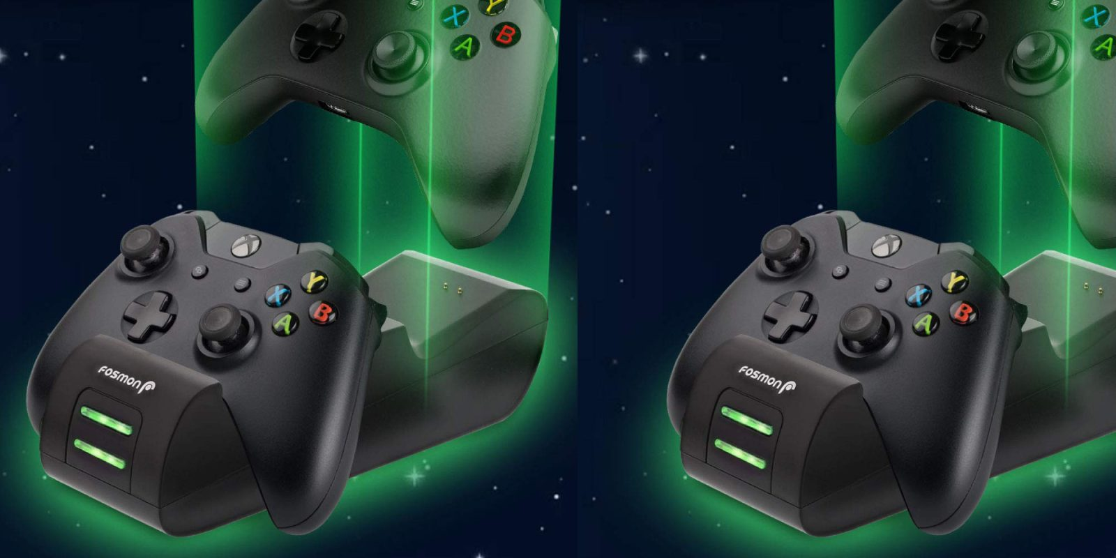 Fosmon's highly-rated Dual Xbox Controller Charger is now $12 (50% off)