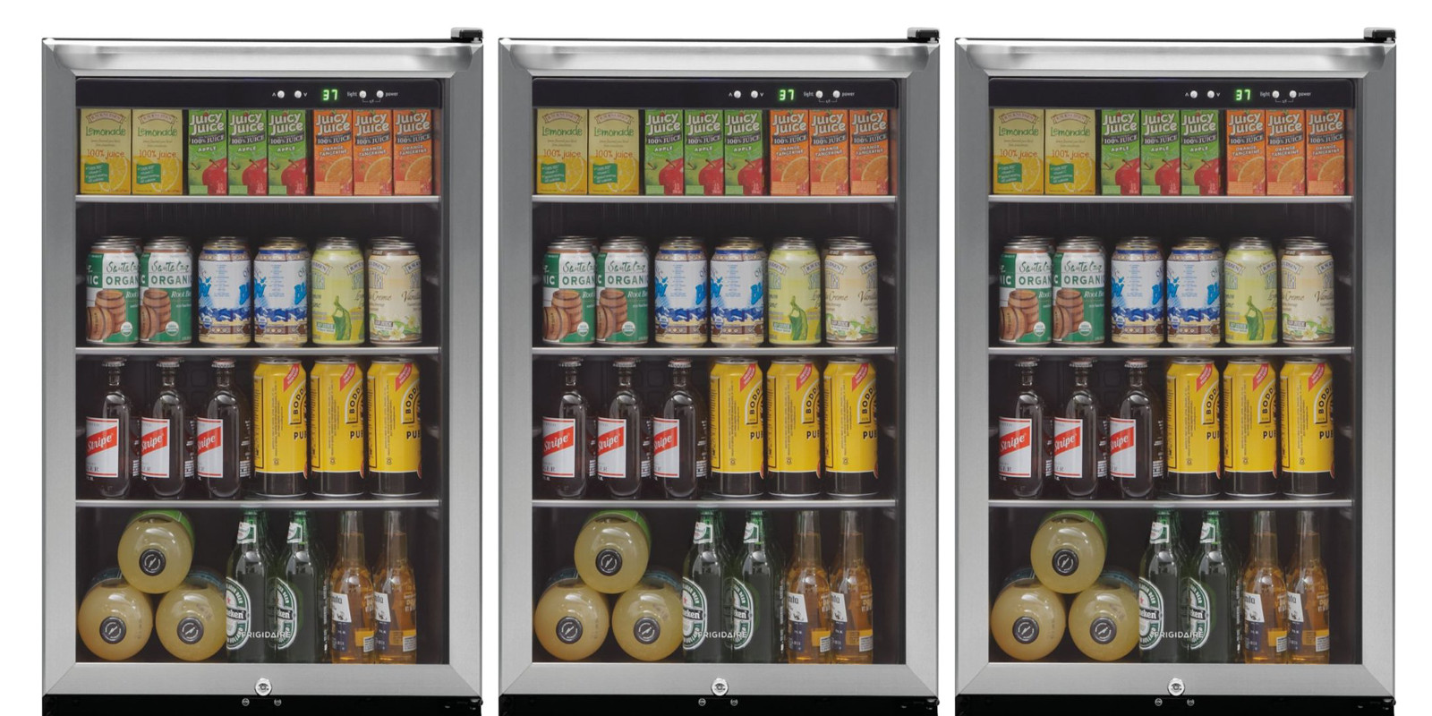 Put a Frigidaire 138-Can Mini Fridge in the man cave at up to $100 off