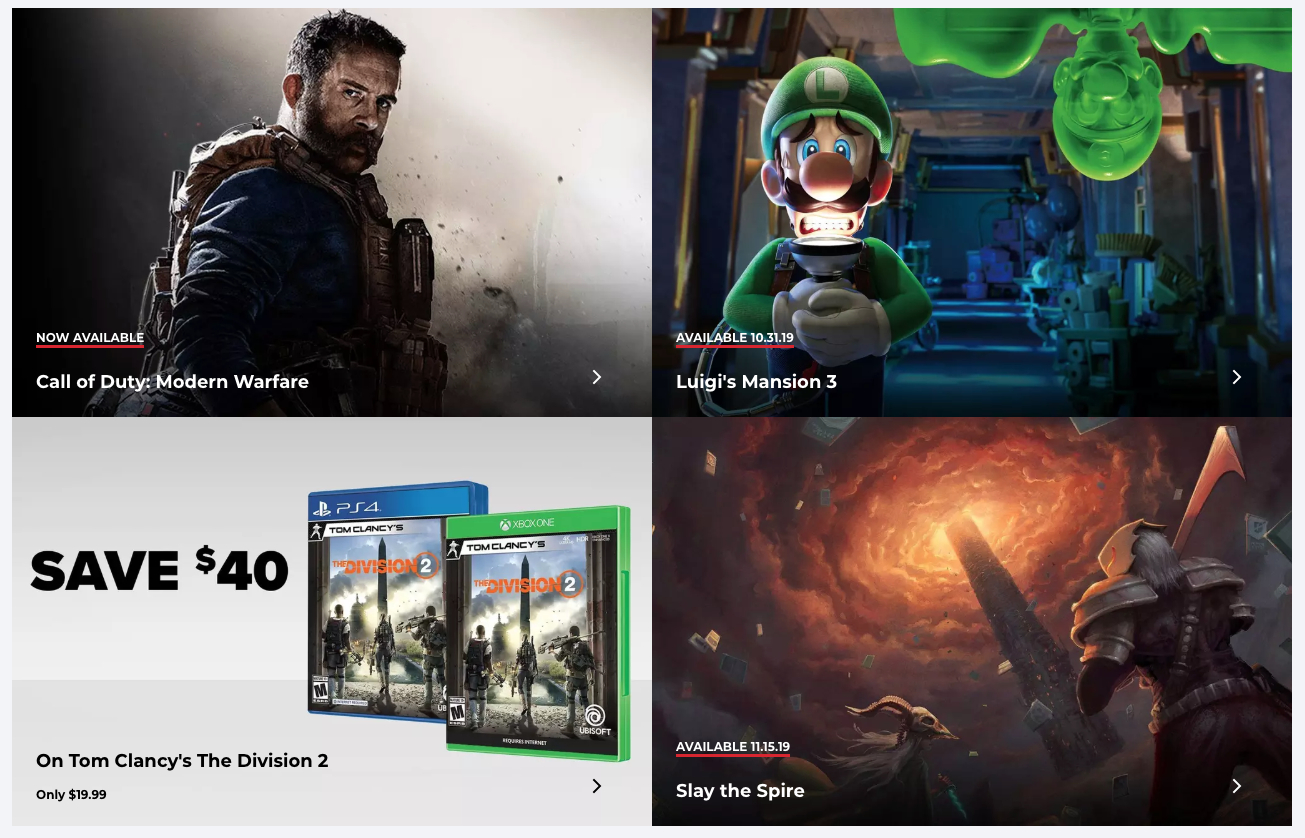 GameStop Black Friday 2019 deals