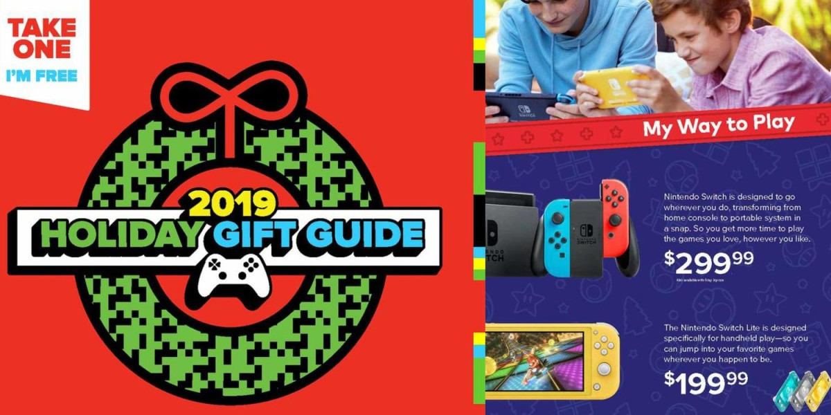 GameStop Holiday Gift Guide 2019
