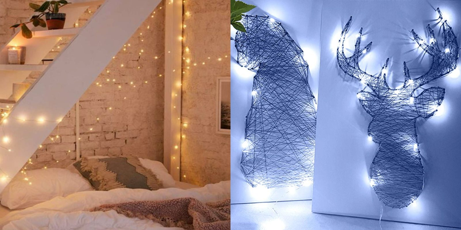 Upgrade your outdoor space with LED fairy lights from $5.50 Prime shipped