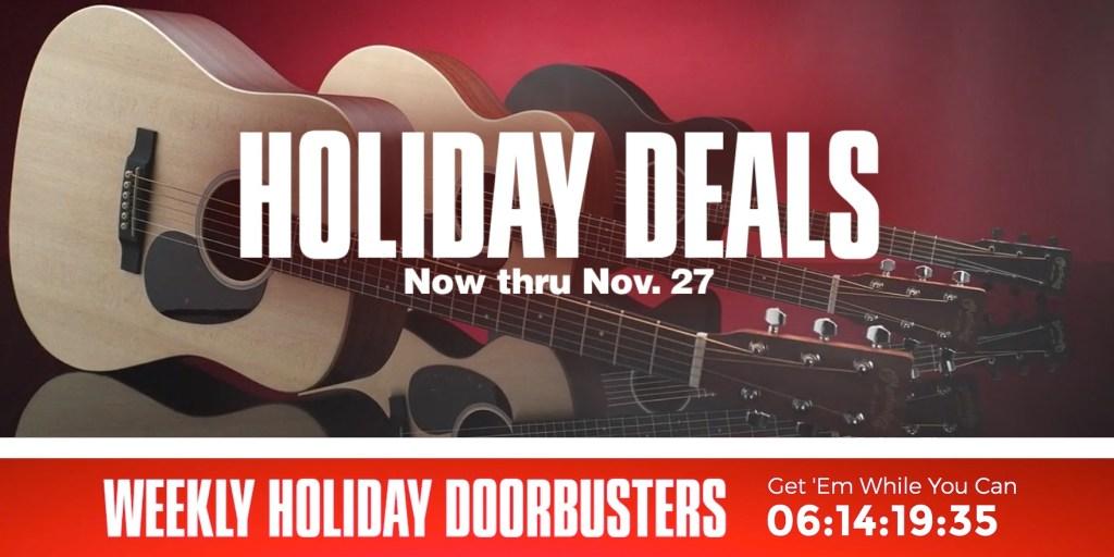 Guitar Center holiday deals 2019